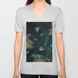 Birds in Paradise Unisex V-Neck