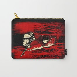 Here Comes the Red One Carry-All Pouch