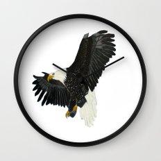 Bald Eagle-4 Wall Clock