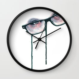 Modern Melt Wall Clock