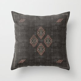 Kilim in Black and Pink Deko-Kissen