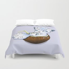 Vulpical Coconut Duvet Cover