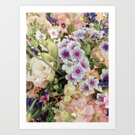 Vibrant Bouquet Art Print