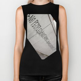 No people without homes, no homes without people.... Biker Tank