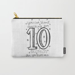 10 seconds Carry-All Pouch