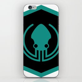 gitkraken developer github occult sigil of the gateway octopus satanism programmer iPhone Skin