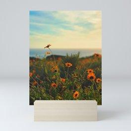Malibu Wildflowers Mini Art Print