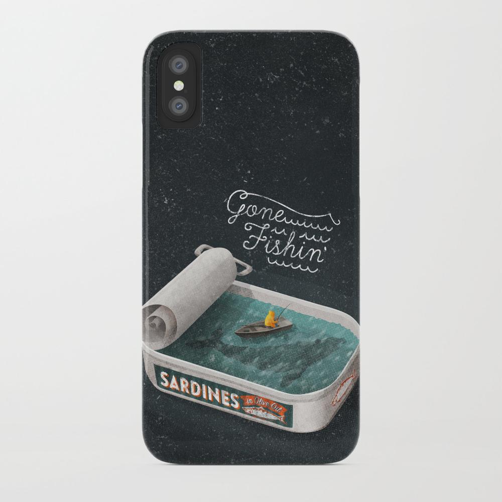 Gone Fishin' Phone Case by Seasidespirit PCS2746577