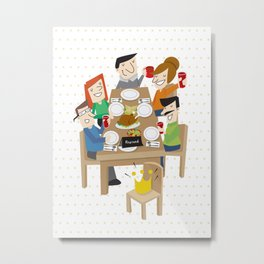 To Our Guest! Metal Print