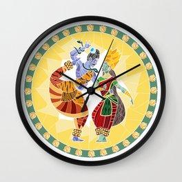 Shiva - Parvati Dance2 Wall Clock