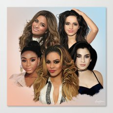 Fifth Harmony Canvas Print