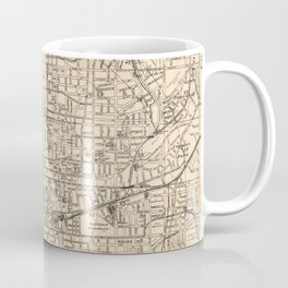 1906 Map of Atlanta, GA Coffee Mug