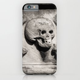 Gothic Skull and Bones iPhone Case