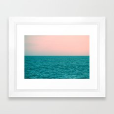 #Turquoise #Sea Framed Art Print