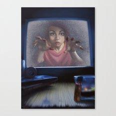 White Noise (Revised) Canvas Print