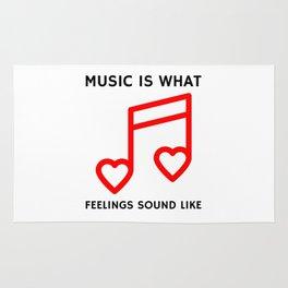 Music Feelings Rug