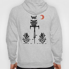 Boho Animals Owl Hoody
