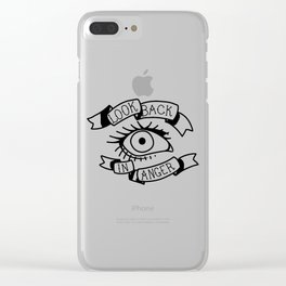 Look Back in Anger Clear iPhone Case