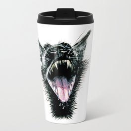 Black  Scream Travel Mug