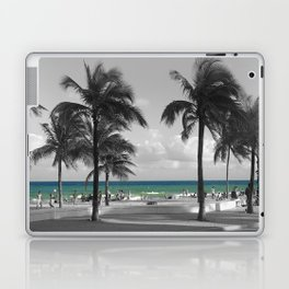 Miami Beach Florida Ocean photography Laptop & iPad Skin