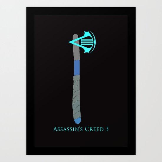 Assassin's Creed 3 Art Print