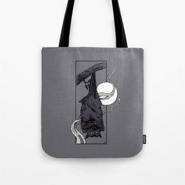 Purple Bat Tote Bag