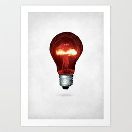 Eureka Bomb Art Print
