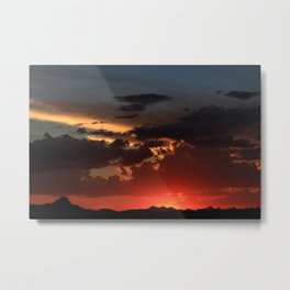 Amazing Arizona Sunsets VII Metal Print