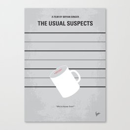 No095 My The usual suspects  MMP Canvas Print