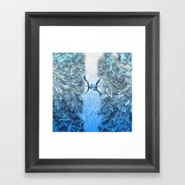 Pisces the Fish Framed Art Print