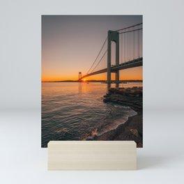 Verrazano Sunset Mini Art Print