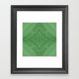 Spontaneous Symmetry Breaking Framed Art Print