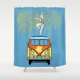 Counterculture Shower Curtain