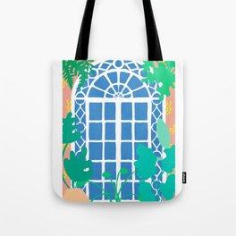 Postmodern Garden Window Tote Bag