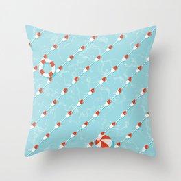 Pills Pattern 012 Throw Pillow
