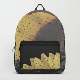 Boulder Colorado Flatirons Sunflower Decor \\ Chautauqua Park Floral Yellow Nature Bohemian Style Backpack