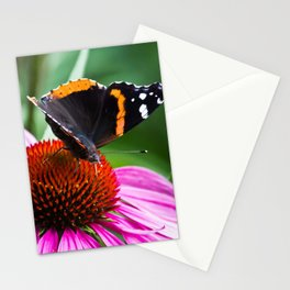 Red Admiral Butterfly Stationery Cards