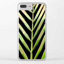 Natural Stripes Clear iPhone Case