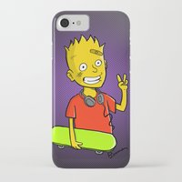 simpson iPhone & iPod Cases featuring Bart Simpson by Bouman
