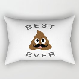 Best pop ever- Best dad ever- fathers day greetings Rectangular Pillow