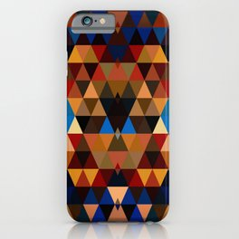 High Desert Mountains Southwestern Ethnic Tribal Vibe iPhone Case
