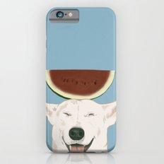 Watermelon doggy smile iPhone 6s Slim Case