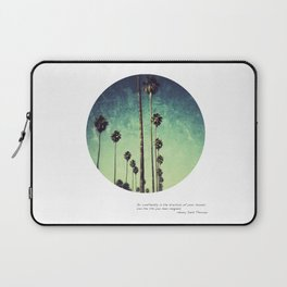 Live the life you have imagined #1 Laptop Sleeve