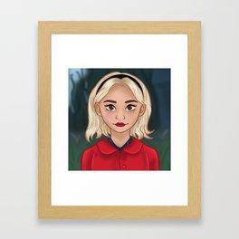 Sabrina Spellman - Portrait Framed Art Print