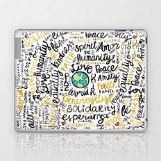 Positive Messages Laptop & iPad Skin