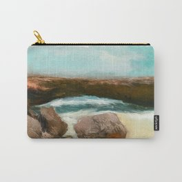 Aruba Natural Bridge Carry-All Pouch