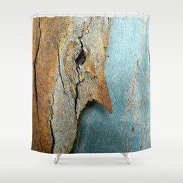Eucalyptus tree bark texture 10 Shower Curtain
