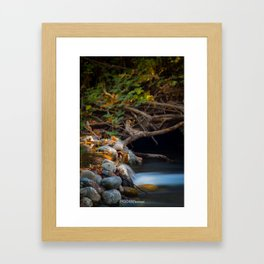 Path Into the Sunset Framed Art Print