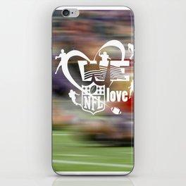 American football iPhone Skin