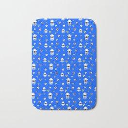 Water Level Sprites | Super Mario Pattern Bath Mat